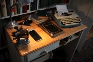 Mani's desk